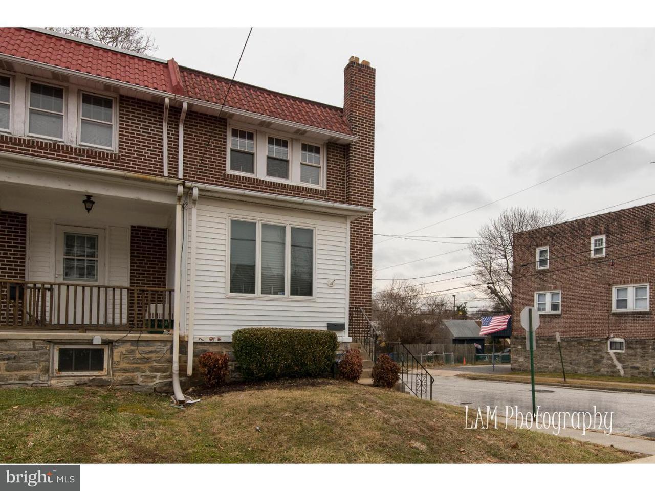 联栋屋 为 销售 在 301 ROBERTA Avenue Collingdale, 宾夕法尼亚州 19023 美国