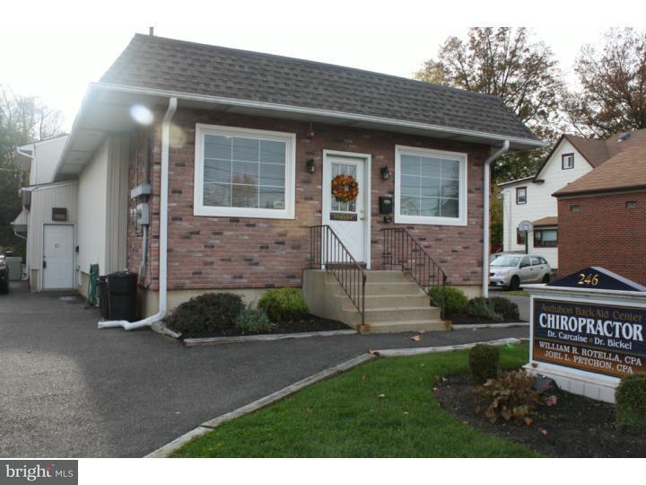 Частный односемейный дом для того Продажа на 246 S WHITE HORSE PIKE Audubon, Нью-Джерси 08106 Соединенные Штаты