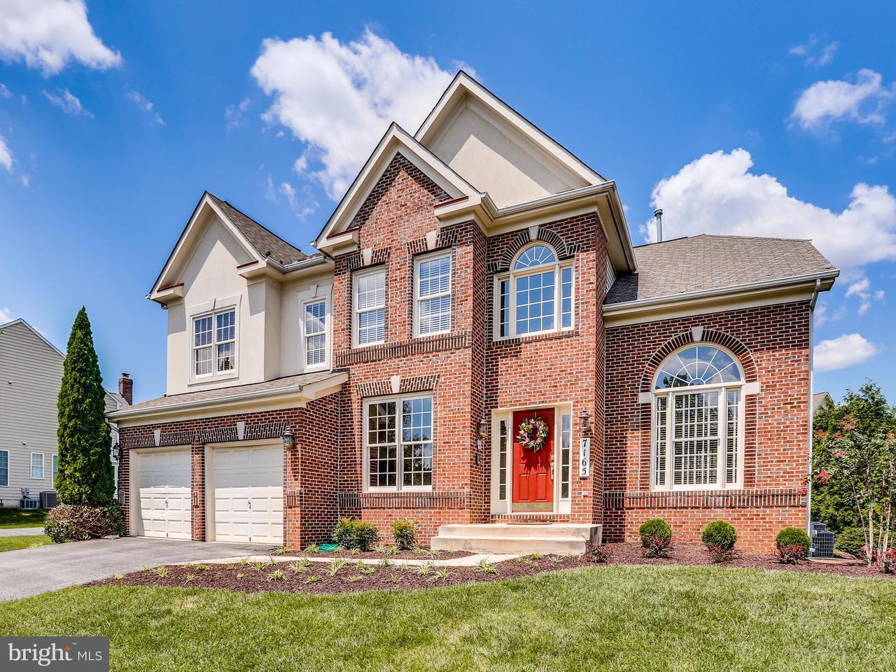 Casa Unifamiliar por un Venta en 7165 MILLBURY Court 7165 MILLBURY Court Elkridge, Maryland 21075 Estados Unidos