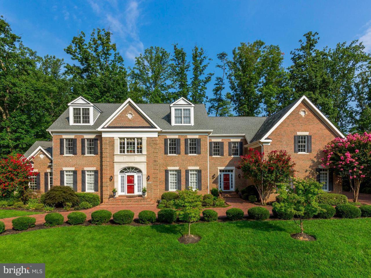 Частный односемейный дом для того Продажа на 8836 ROMMEL Drive 8836 ROMMEL Drive Lorton, Виргиния 22079 Соединенные Штаты