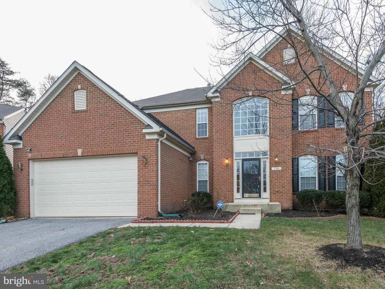 Maison unifamiliale pour l Vente à 1708 CALDERDALE Court 1708 CALDERDALE Court Hanover, Maryland 21076 États-Unis