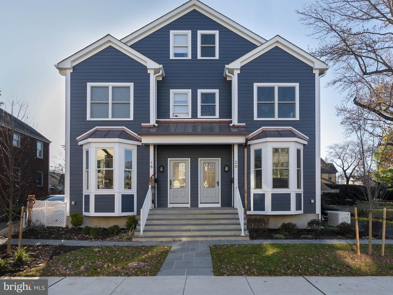 Maison accolée pour l Vente à 20 HUMBERT Street Princeton, New Jersey 08542 États-UnisDans/Autour: Princeton