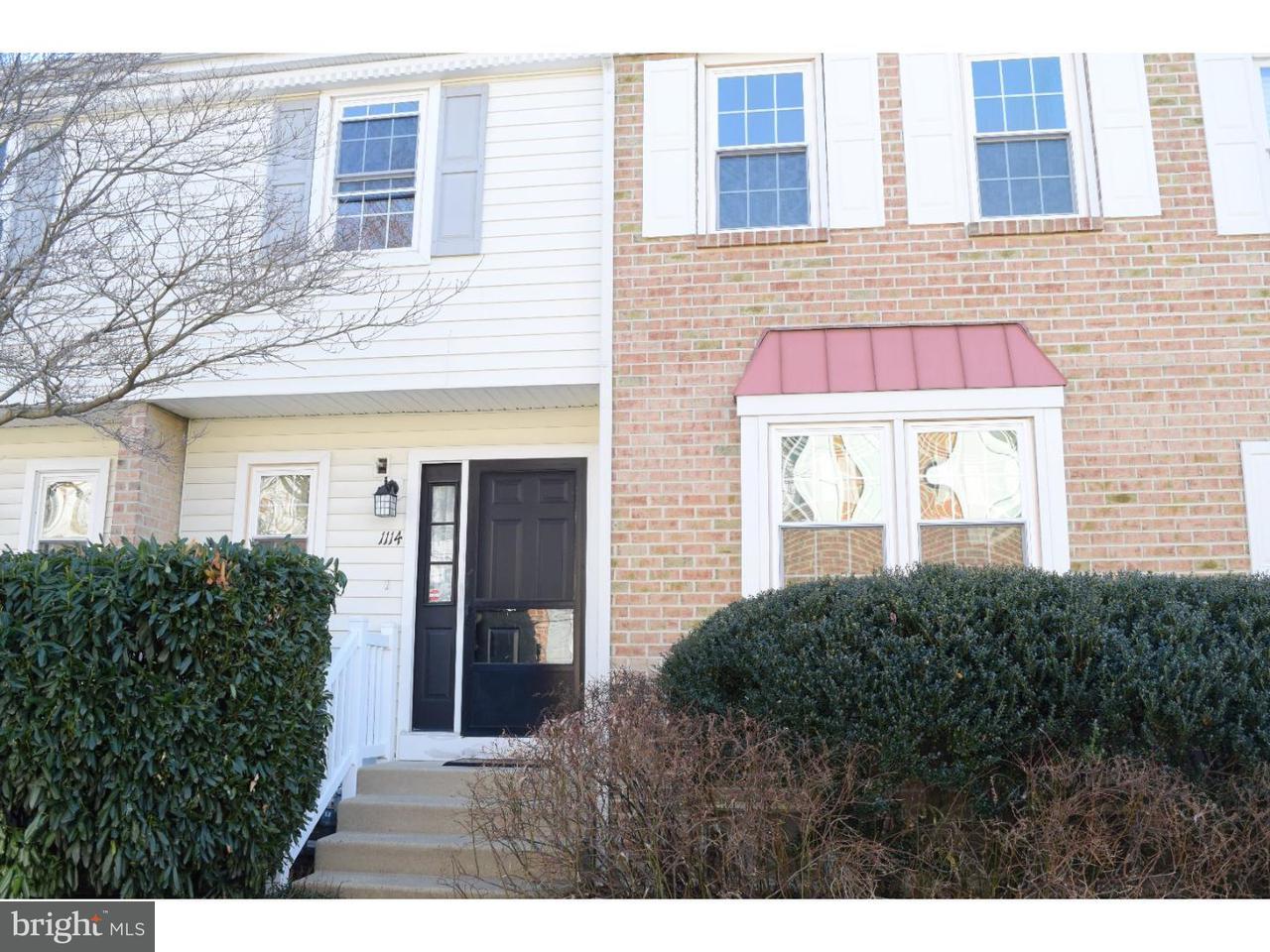联栋屋 为 出租 在 1114 SOCIETY HL Cherry Hill, 新泽西州 08003 美国