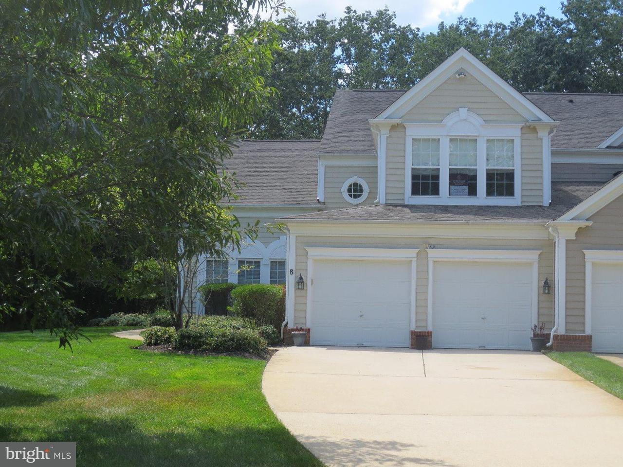 Casa unifamiliar adosada (Townhouse) por un Venta en 8 BOXWOOD Lane Medford, Nueva Jersey 08055 Estados Unidos