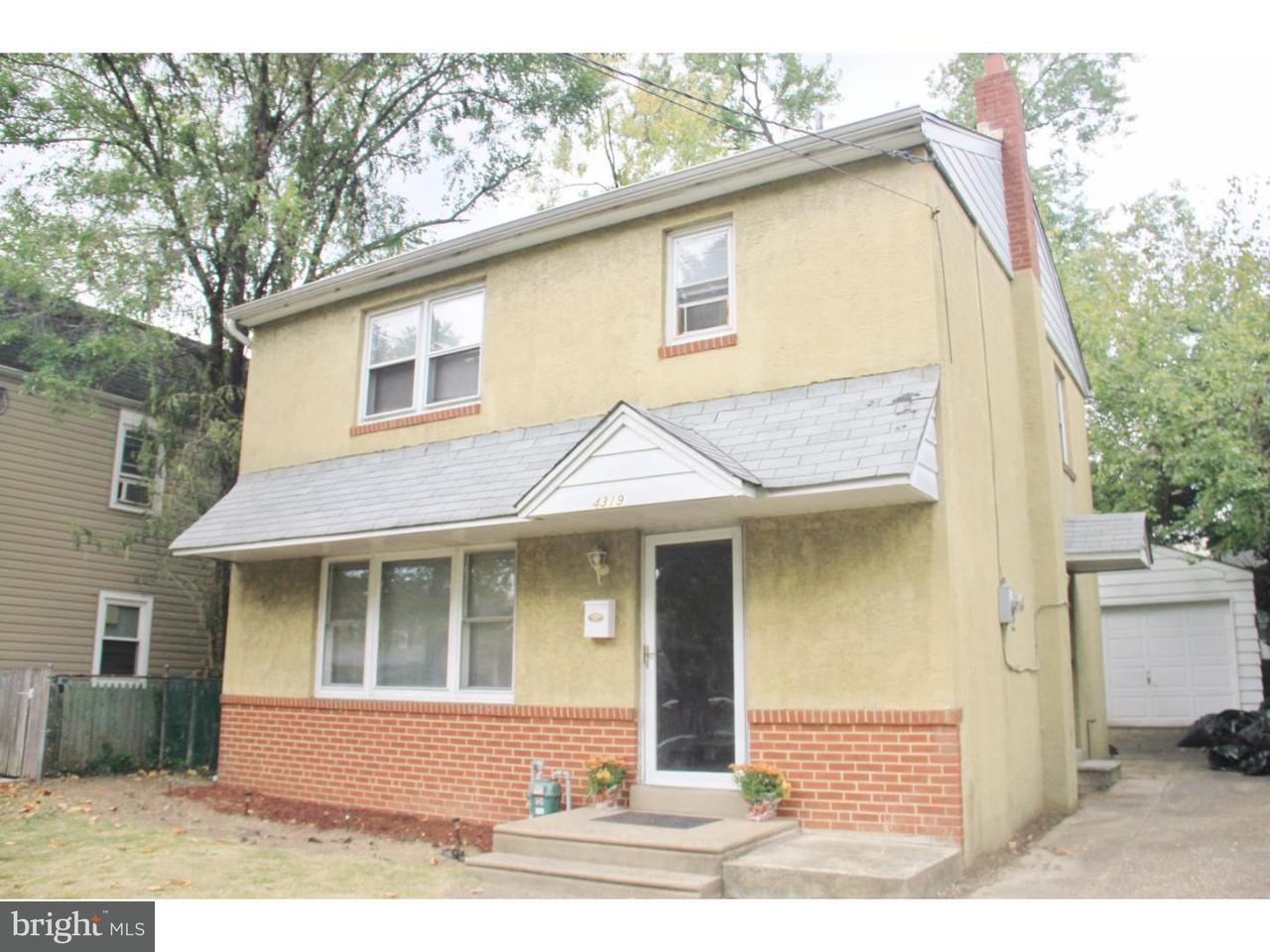 Single Family Home for Rent at 4319 REMINGTON Avenue Pennsauken, New Jersey 08110 United States