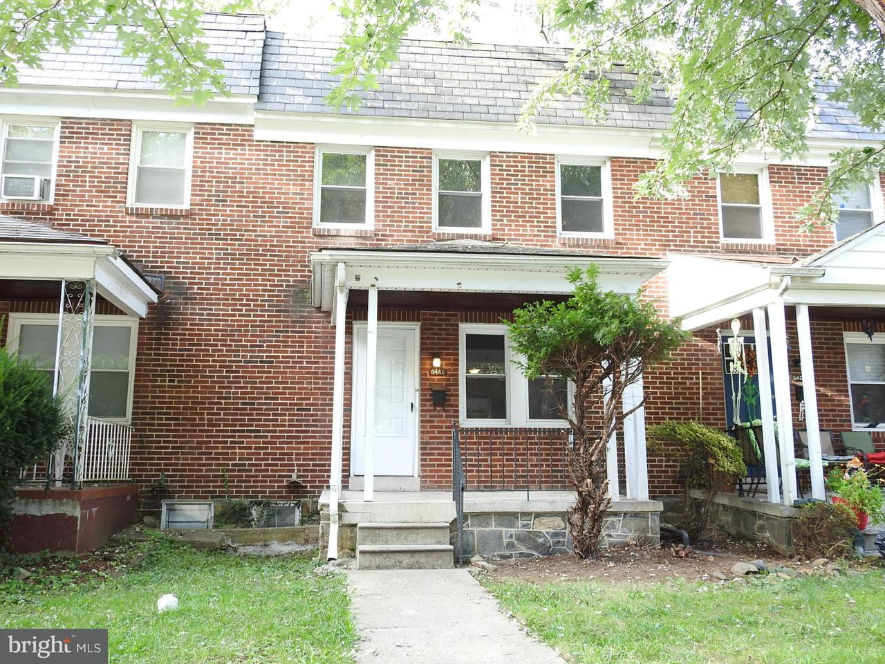 Single Family for Sale at 5456 Frederick Ave Baltimore, Maryland 21229 United States