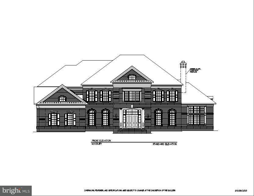 Частный односемейный дом для того Продажа на HARLEY ROAD HOME SITE 5 HARLEY ROAD HOME SITE 5 Lorton, Виргиния 22079 Соединенные Штаты