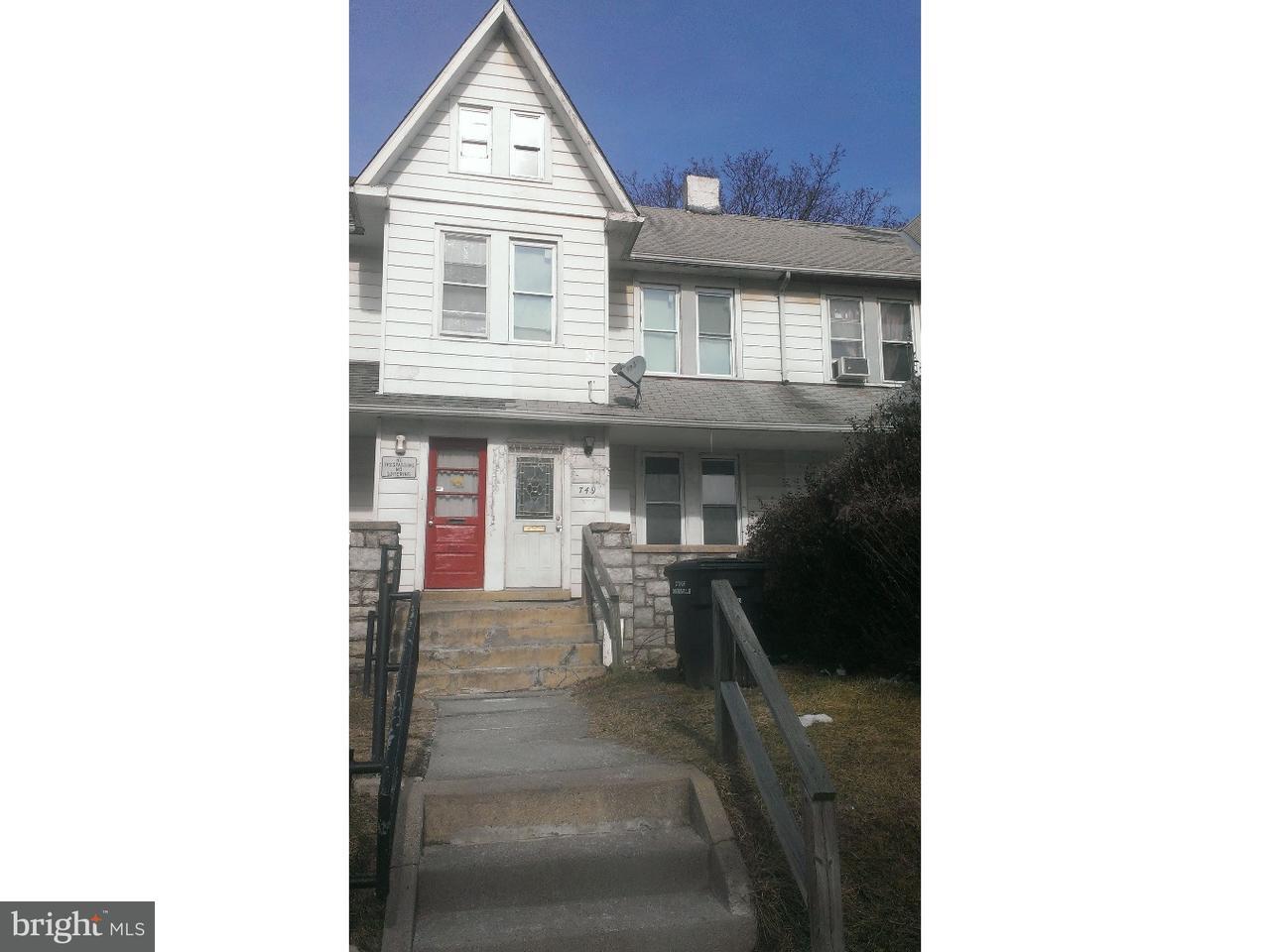 Casa unifamiliar adosada (Townhouse) por un Venta en 749 E LINCOLN HWY Coatesville, Pennsylvania 19320 Estados Unidos