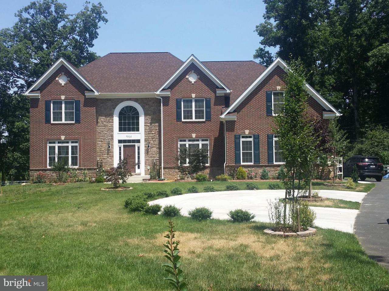 Single Family Home for Sale at 7934 SHREVE Road 7934 SHREVE Road Falls Church, Virginia 22043 United States