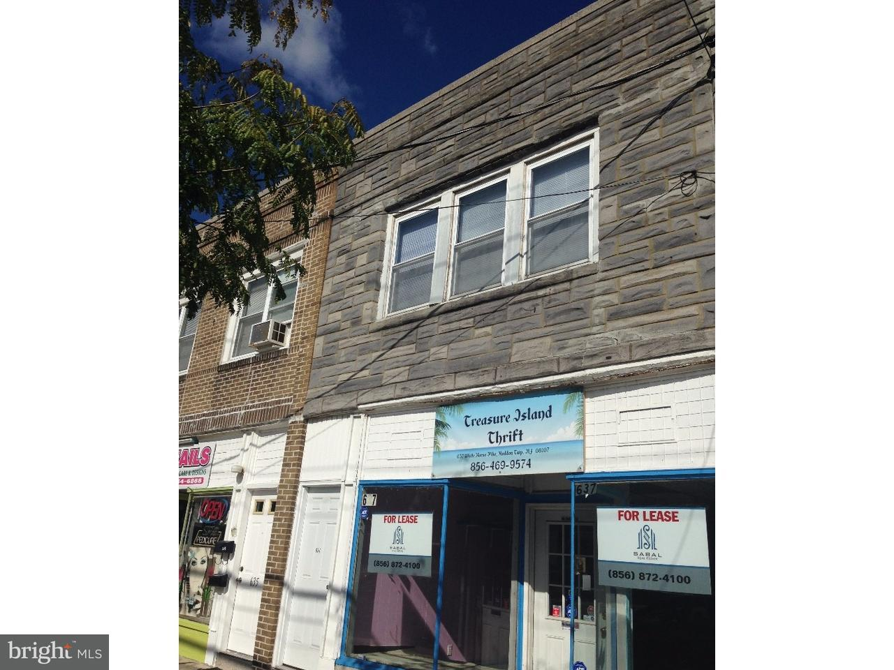 Duplex for Rent at 637 WHITE HORSE PIKE Haddon Township, New Jersey 08107 United States