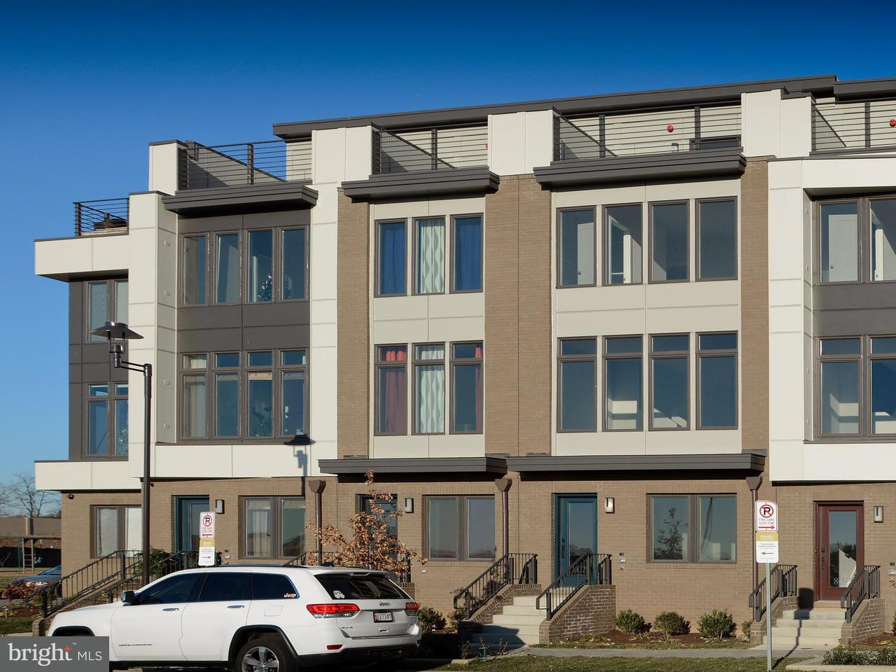 Townhouse for Sale at 8079 TRIBECA Street 8079 TRIBECA Street Rockville, Maryland 20855 United States