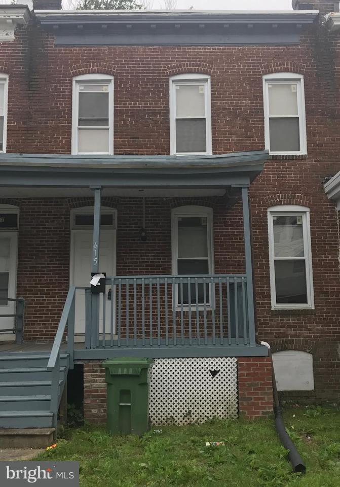 Single Family for Sale at 615 Glenwood Ave Baltimore, Maryland 21212 United States