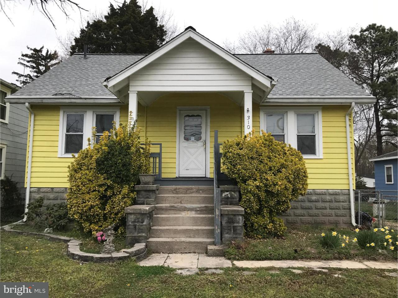 Single Family Home for Sale at 310 S BROADWAY Pennsville, New Jersey 08070 United States