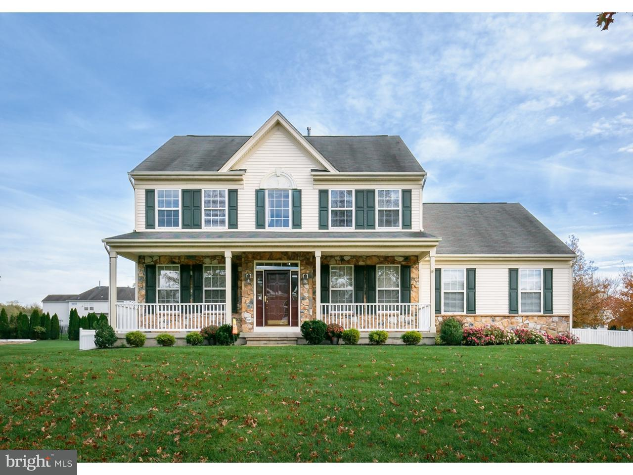 Maison unifamiliale pour l Vente à 9 COTTONWOOD Drive Lumberton, New Jersey 08048 États-Unis