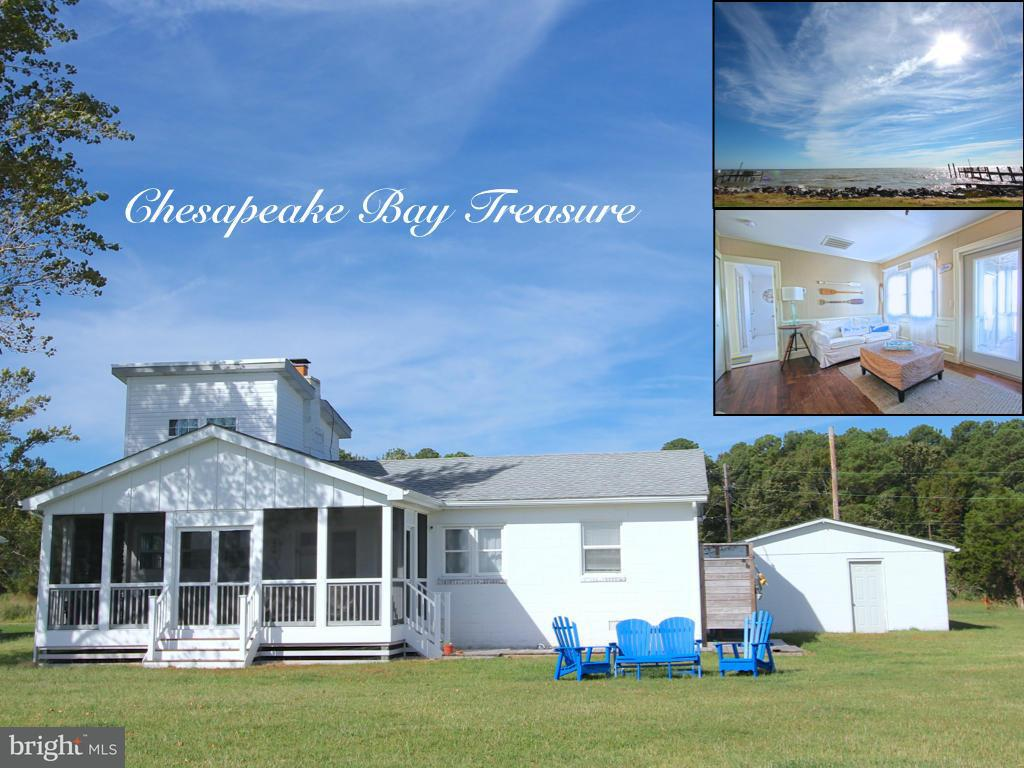 Single Family for Sale at 15088 Chesapeake Bay Dr Scotland, Maryland 20687 United States