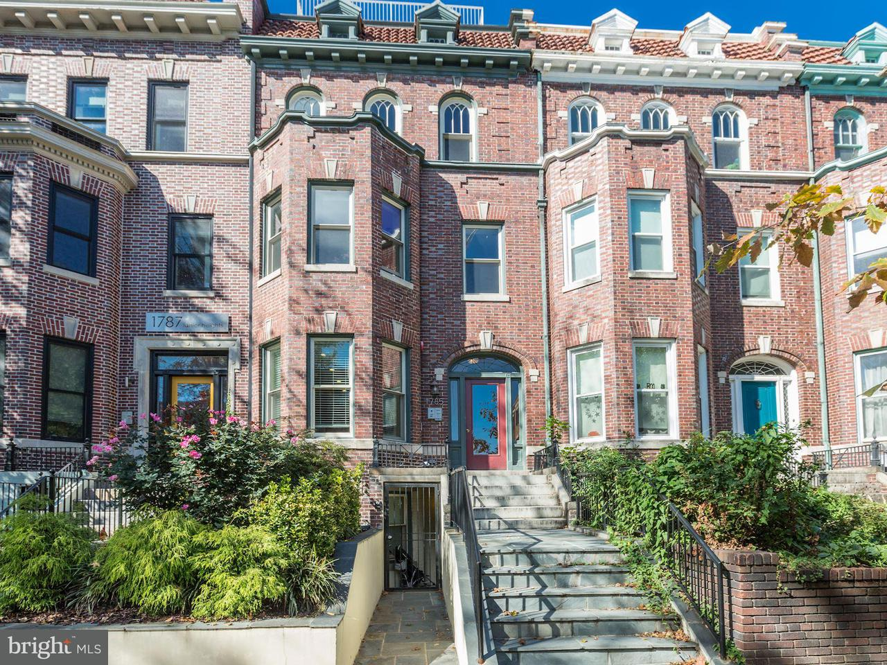 Townhouse for Sale at 1785 LANIER PL NW #2 1785 LANIER PL NW #2 Washington, District Of Columbia 20009 United States