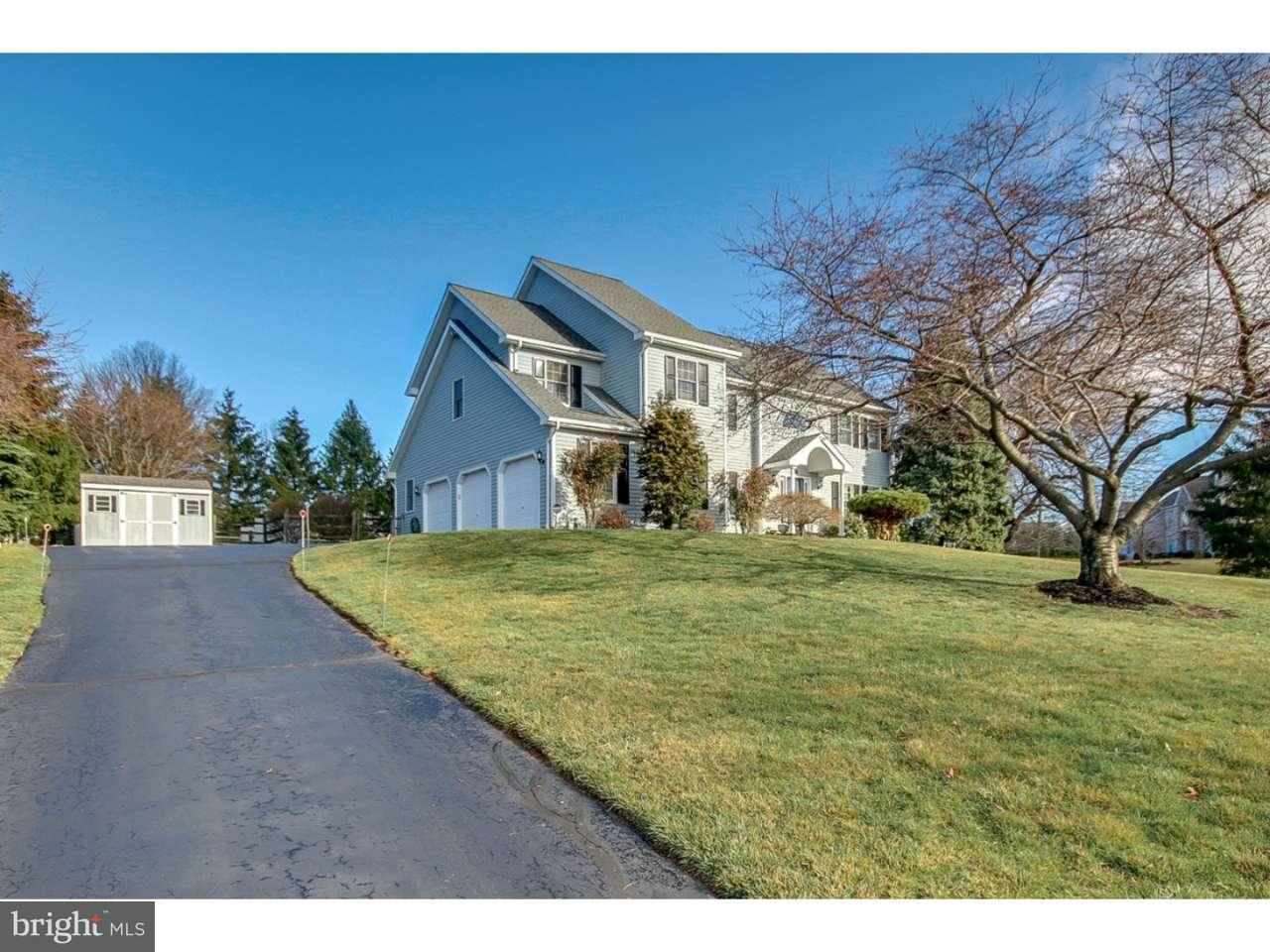 Single Family Home for Sale at 4690 DERBY Lane Plumsteadville, Pennsylvania 18902 United States