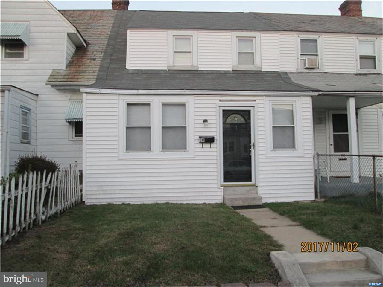 Townhouse for Rent at 30 3RD Avenue Claymont, Delaware 19703 United States