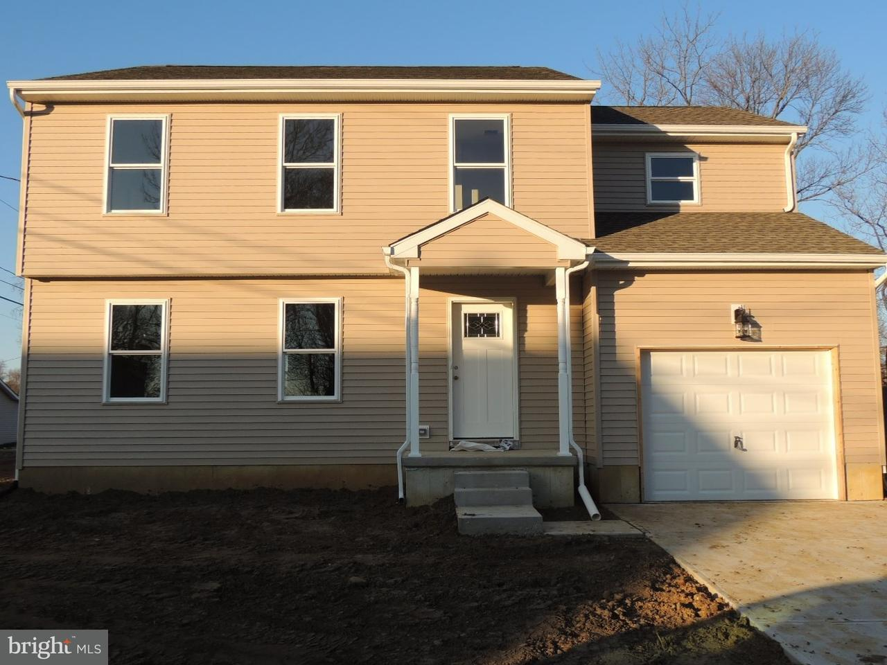 Single Family Home for Sale at 209 WASHINGTON Street Fieldsboro, New Jersey 08505 United States