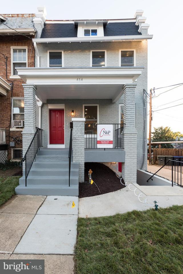 Townhouse for Sale at 414 VARNUM ST NW #1 414 VARNUM ST NW #1 Washington, District Of Columbia 20011 United States