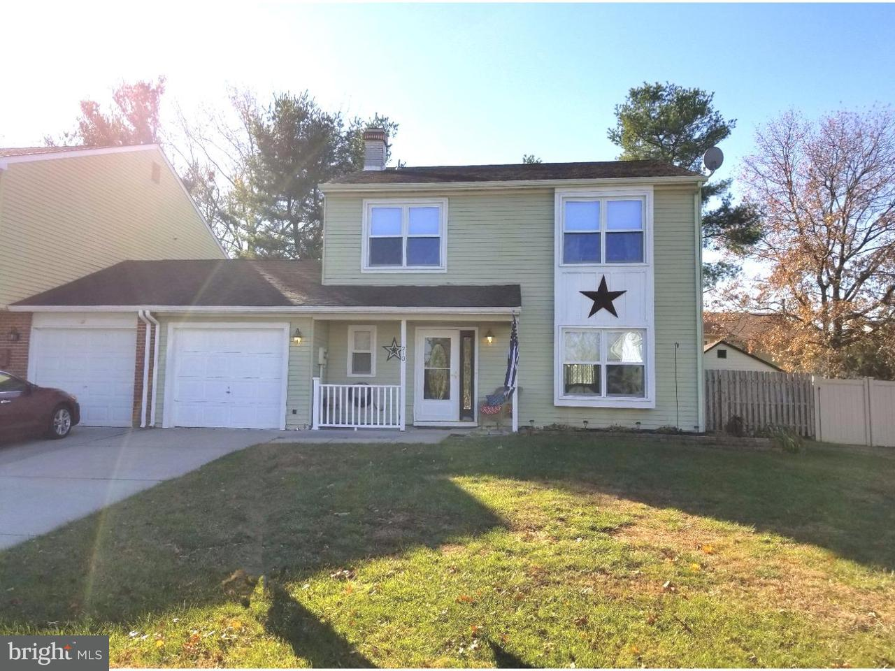 Maison accolée pour l à louer à 210 LAFAYETTE Drive Logan Township, New Jersey 08085 États-Unis