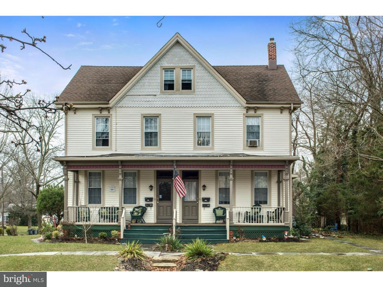 Single Family Home for Sale at 108-110 E ELM Street Wenonah, New Jersey 08090 United States