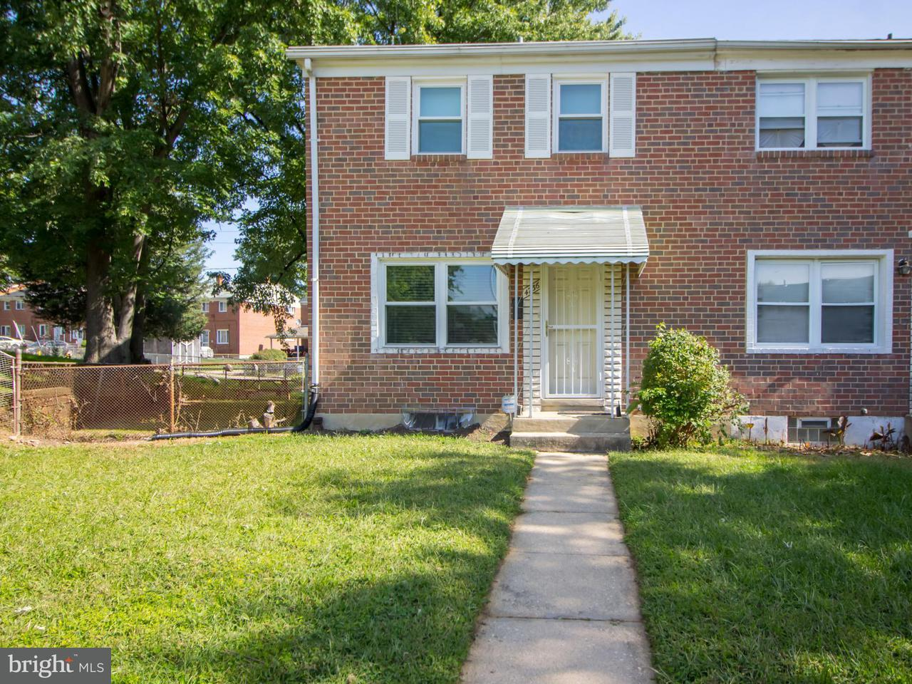 Single Family for Sale at 4736 Vancouver Rd Baltimore, Maryland 21229 United States