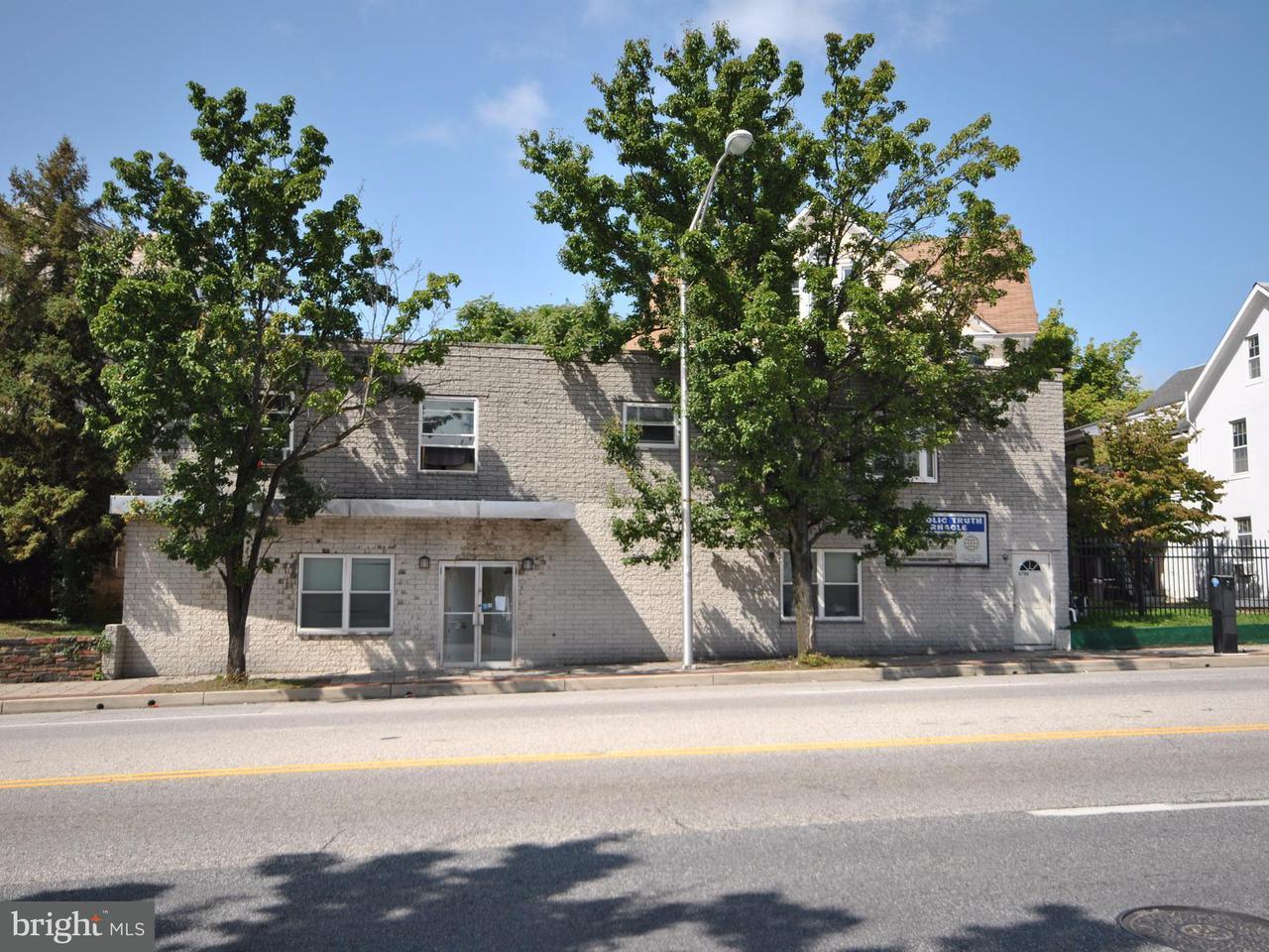 Huis voor meerdere gezinnen voor Verkoop een t 4708 HARFORD Road 4708 HARFORD Road Baltimore, Maryland 21214 Verenigde Staten