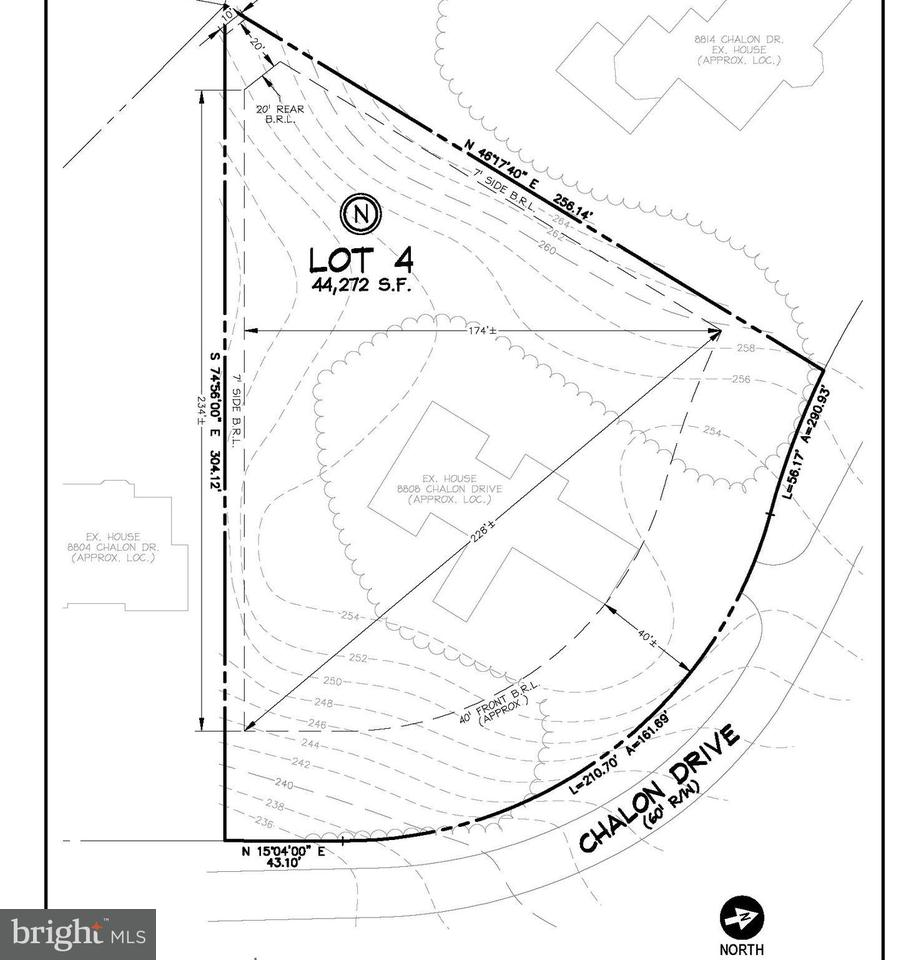 Terrain pour l Vente à 8808 Chalon Drive 8808 Chalon Drive Bethesda, Maryland 20817 États-Unis