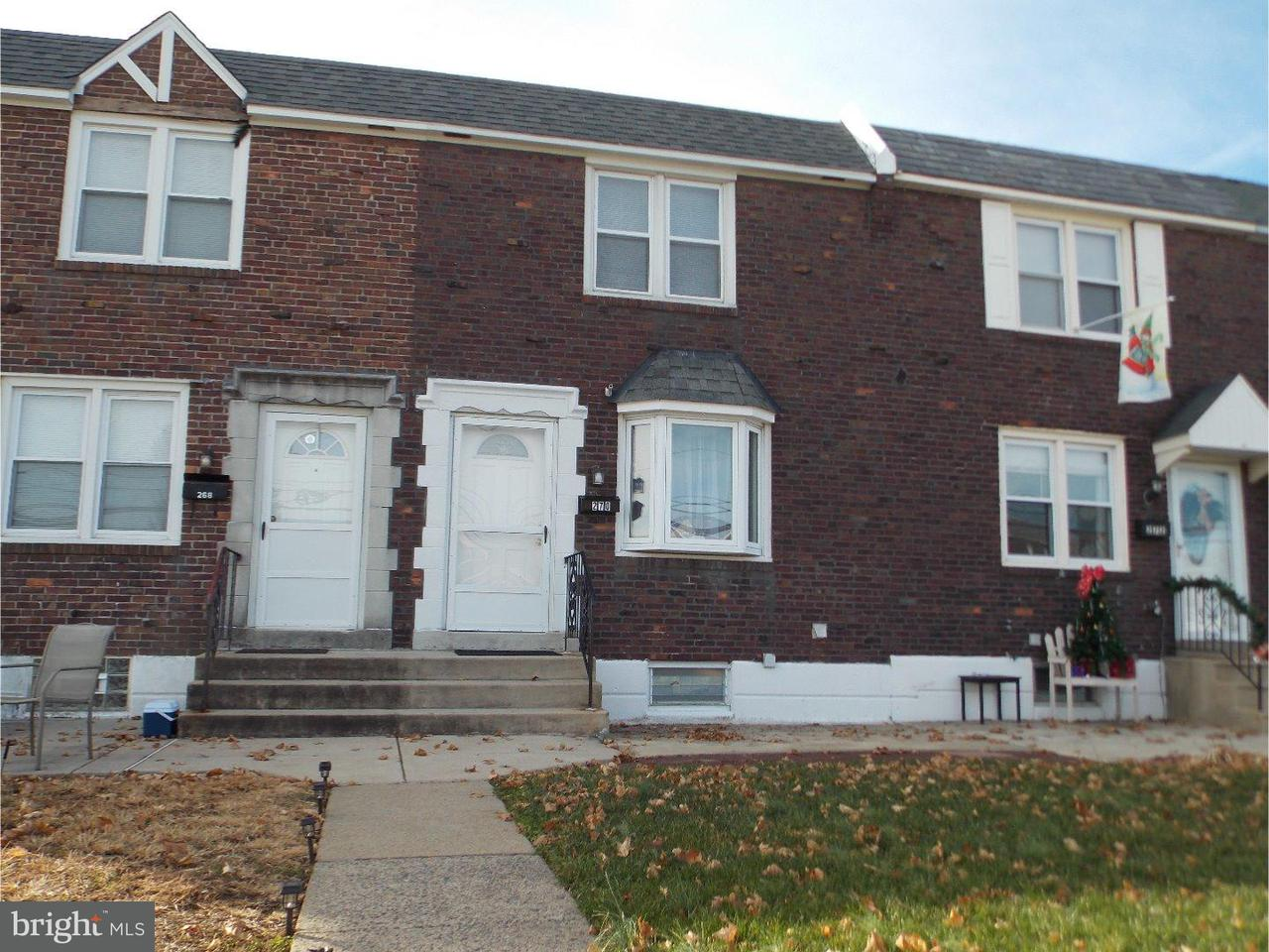 Townhouse for Sale at 270 N OAK Avenue Clifton Heights, Pennsylvania 19018 United States