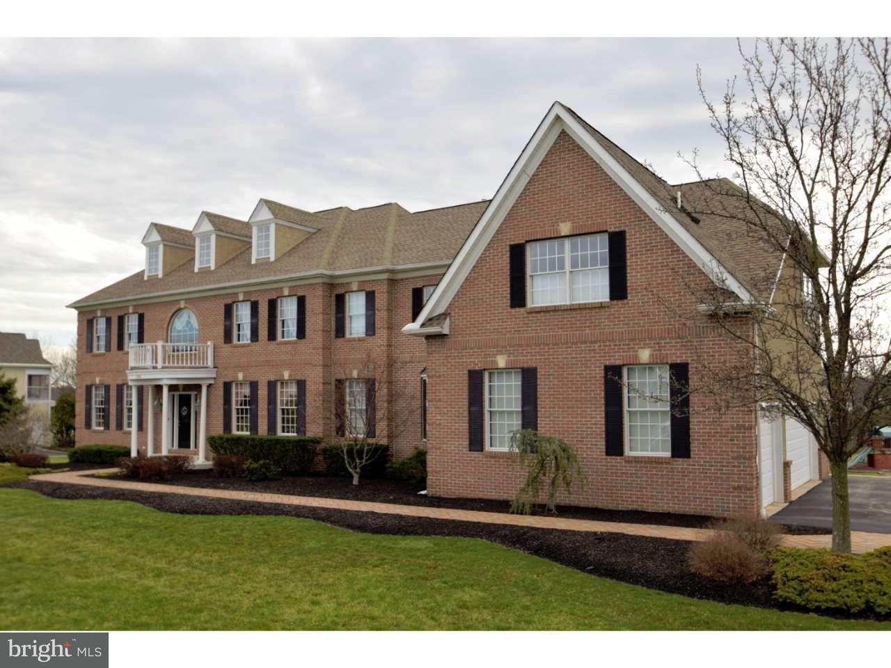 Maison unifamiliale pour l Vente à 1798 HAWKS NEST Collegeville, Pennsylvanie 19426 États-Unis
