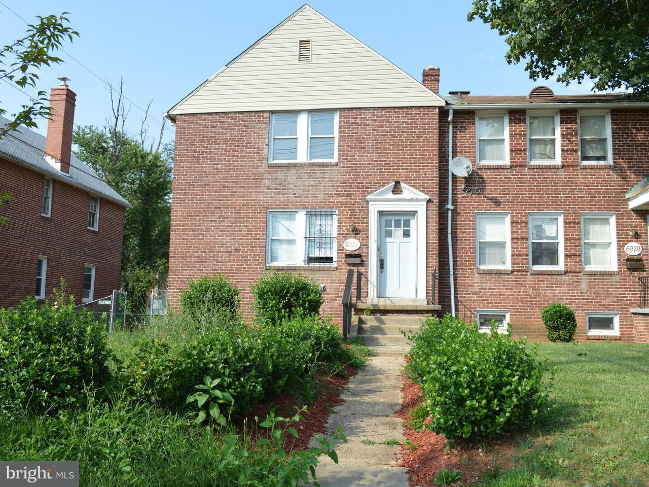 Single Family for Sale at 6931 Reisterstown Rd Baltimore, Maryland 21215 United States