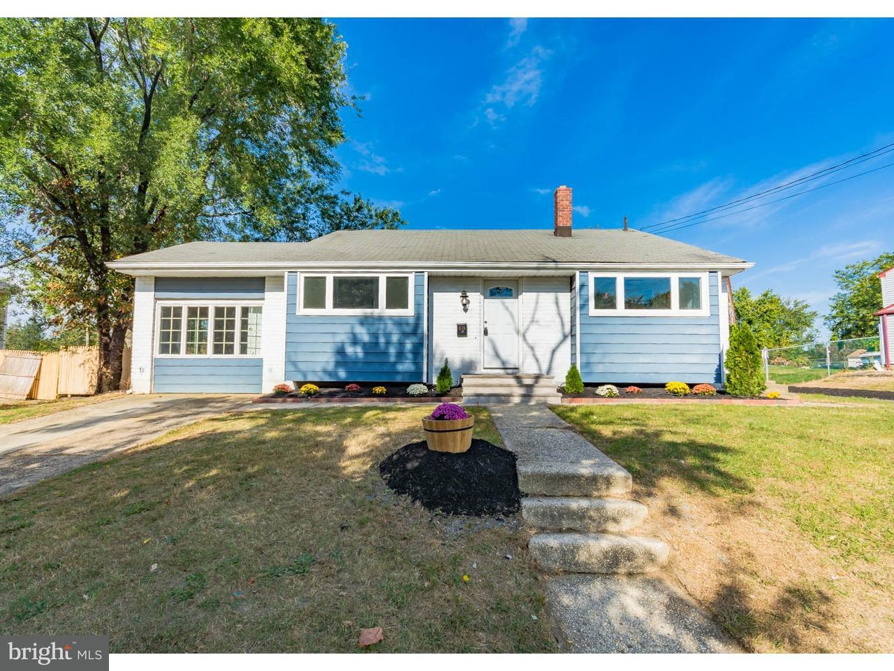 Casa Unifamiliar por un Venta en 638 BISMARCK Avenue Mantua, Nueva Jersey 08051 Estados Unidos