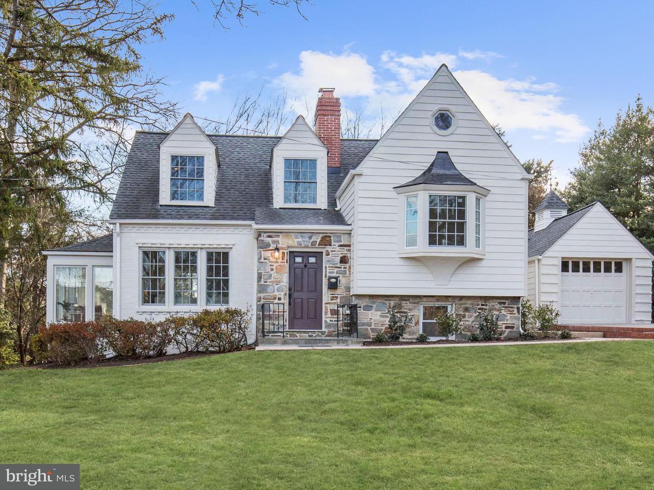 獨棟家庭住宅 為 出售 在 4014 GLENRIDGE Street 4014 GLENRIDGE Street Kensington, 馬里蘭州 20895 美國
