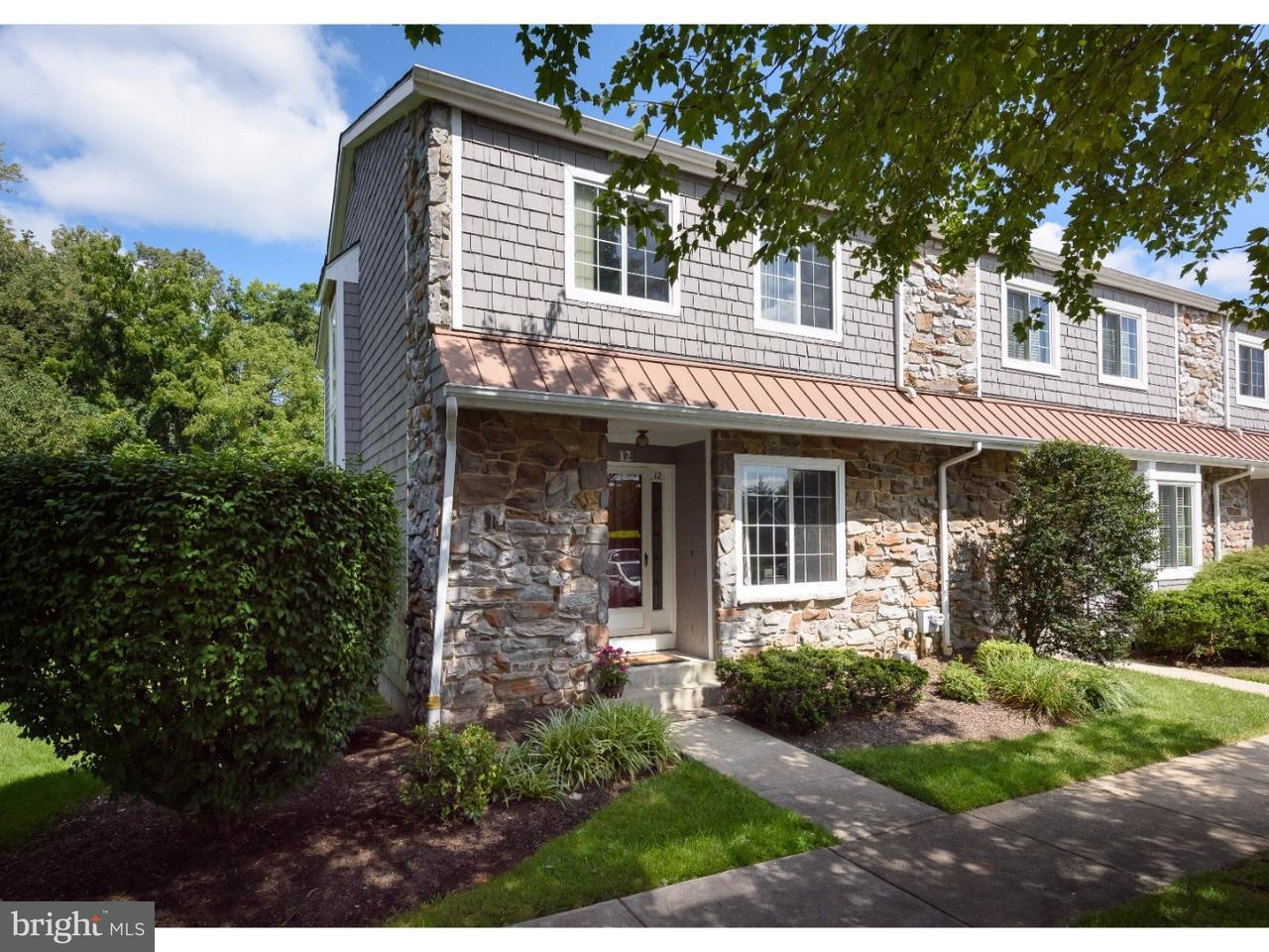 共管式独立产权公寓 为 销售 在 12 LANTERN Lane Chesterbrook, 宾夕法尼亚州 19087 美国