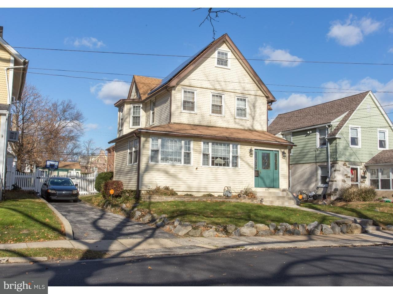 Single Family Home for Sale at 117 DELAWARE Avenue Ridley Park, Pennsylvania 19078 United States