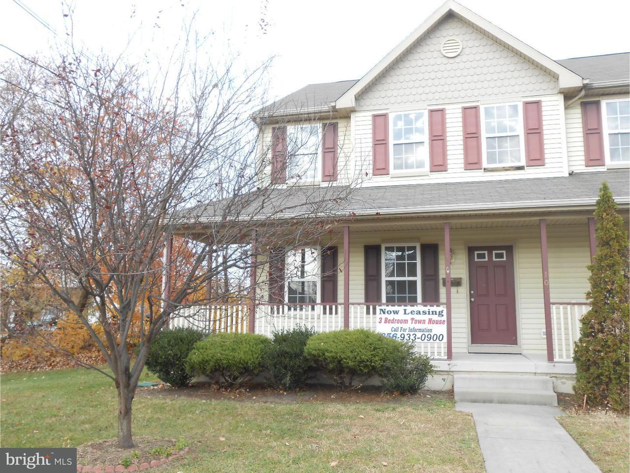 联栋屋 为 出租 在 105 E BROWNING Road Bellmawr, 新泽西州 08031 美国