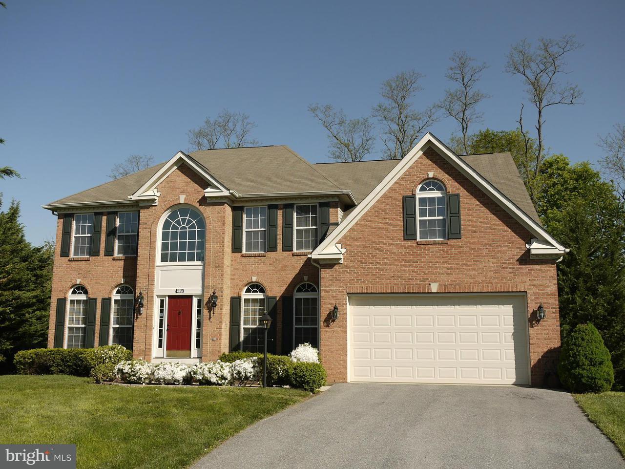 Μονοκατοικία για την Πώληση στο 4220 WALLINGFORD Court 4220 WALLINGFORD Court Jefferson, Μεριλαντ 21755 Ηνωμενεσ Πολιτειεσ