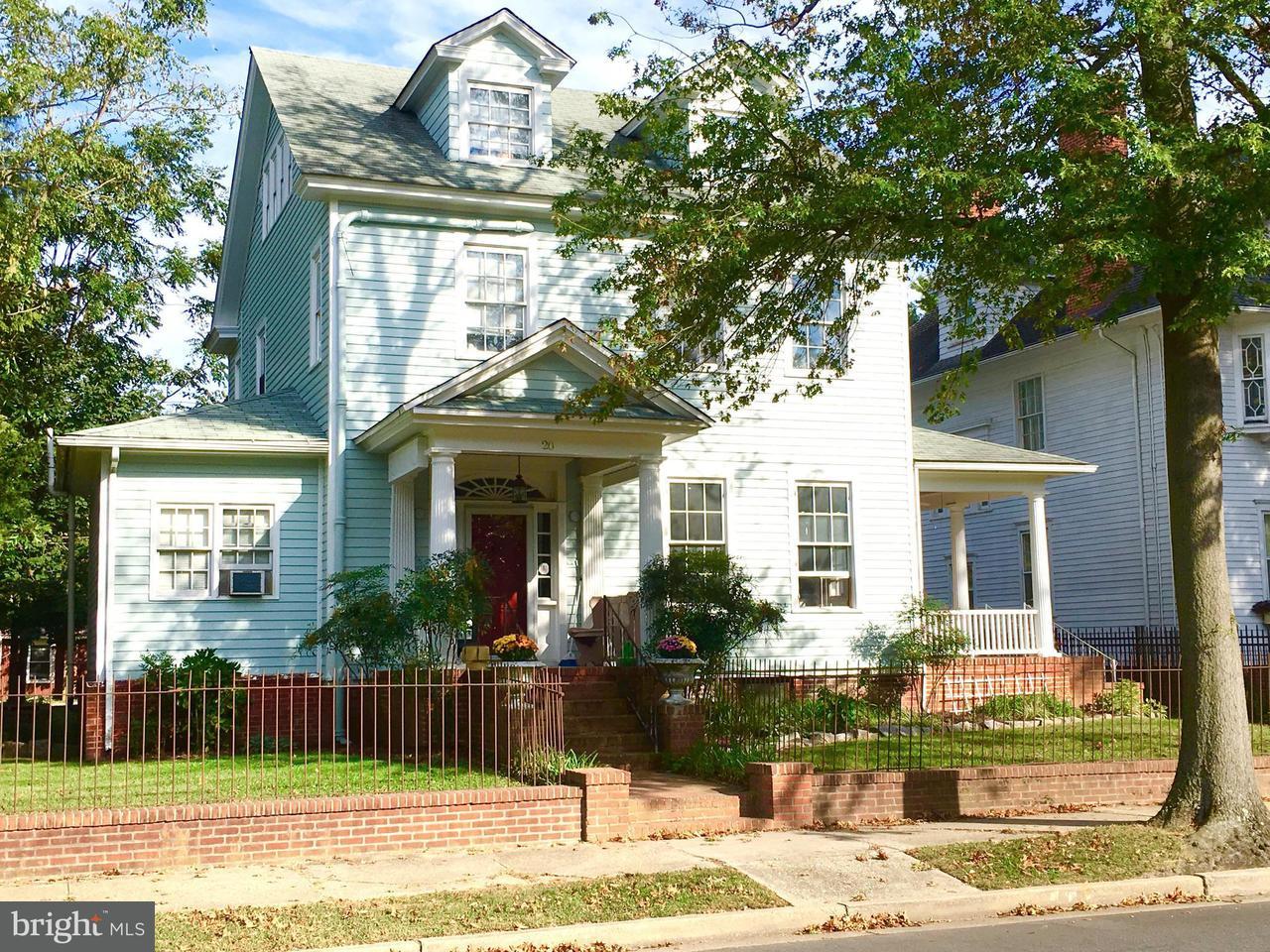 Maison avec plusieurs logements pour l Vente à 20 AURORA ST N 20 AURORA ST N Easton, Maryland 21601 États-Unis