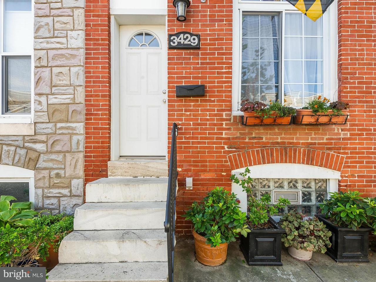 Single Family for Sale at 3429 Lombard St Baltimore, Maryland 21224 United States