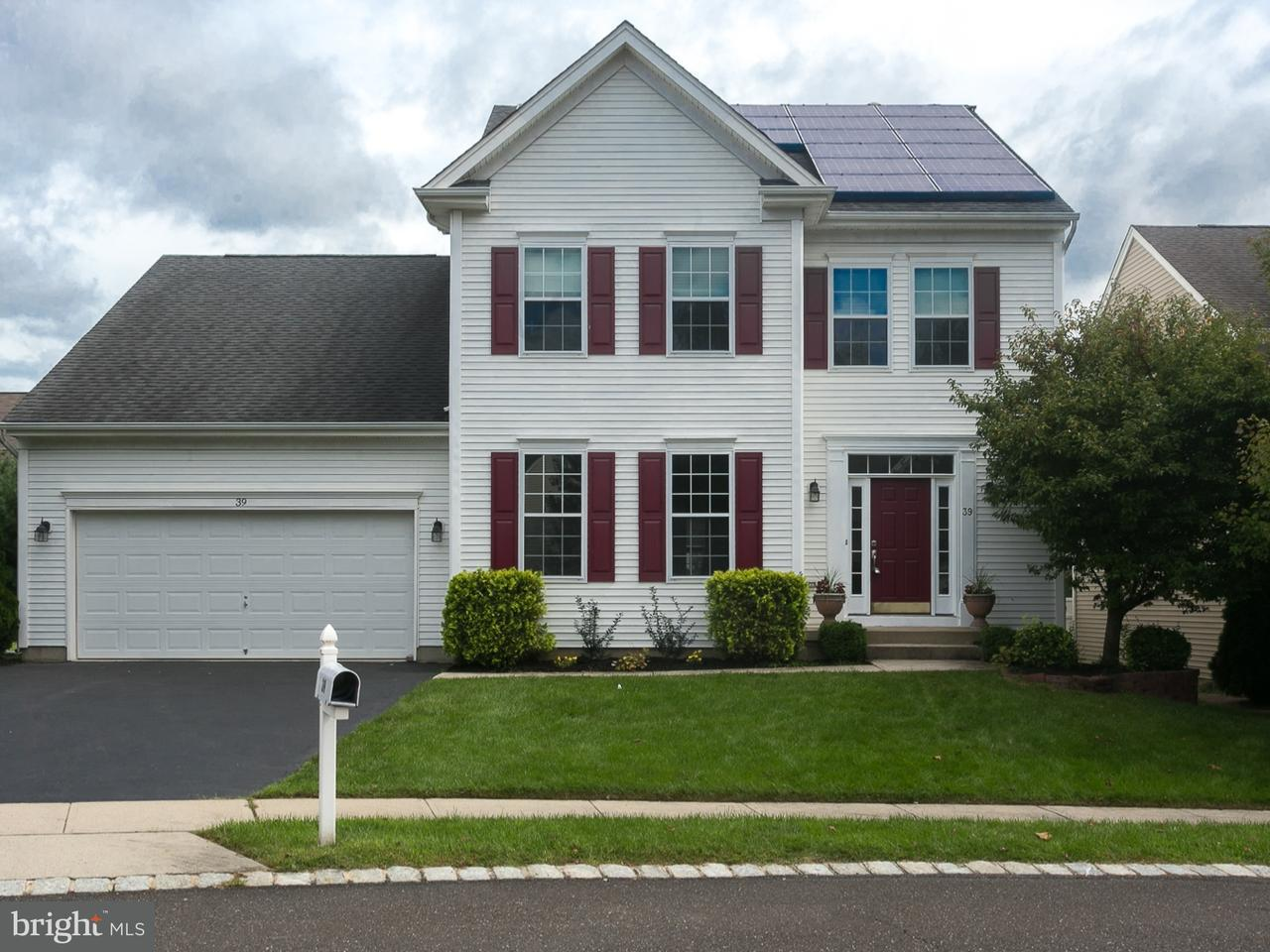 Single Family Home for Sale at 39 SAGAMORE Lane Bordentown, New Jersey 08505 United States