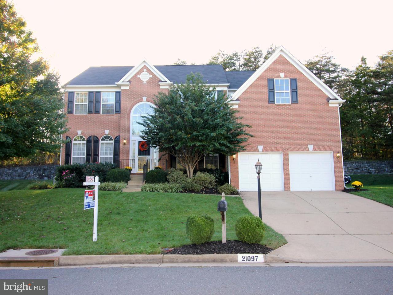 Single Family Home for Sale at 21097 CARTHAGENA Court 21097 CARTHAGENA Court Ashburn, Virginia 20147 United States