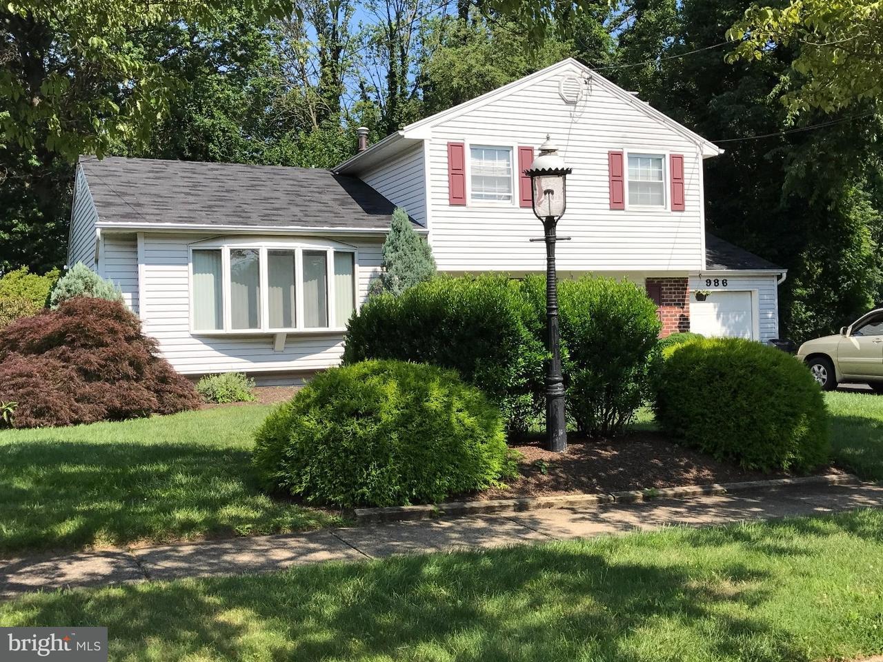 Casa Unifamiliar por un Venta en 986 INDEPENDENCE Road Warminster, Pennsylvania 18974 Estados Unidos