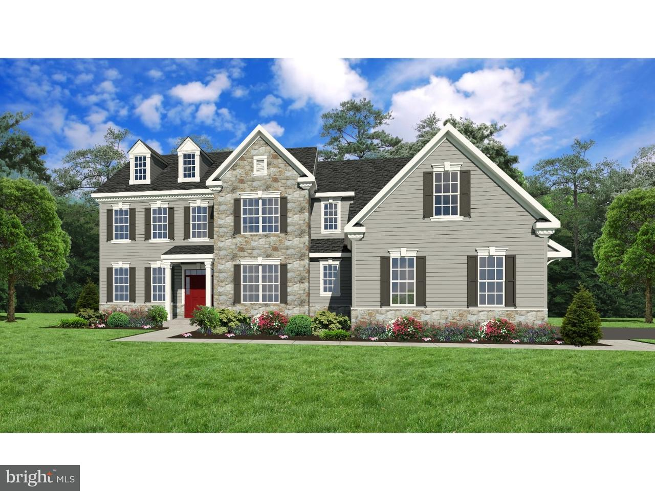 Casa Unifamiliar por un Venta en Lot #2 BENNETT Lane Wrightstown, Pennsylvania 18966 Estados Unidos