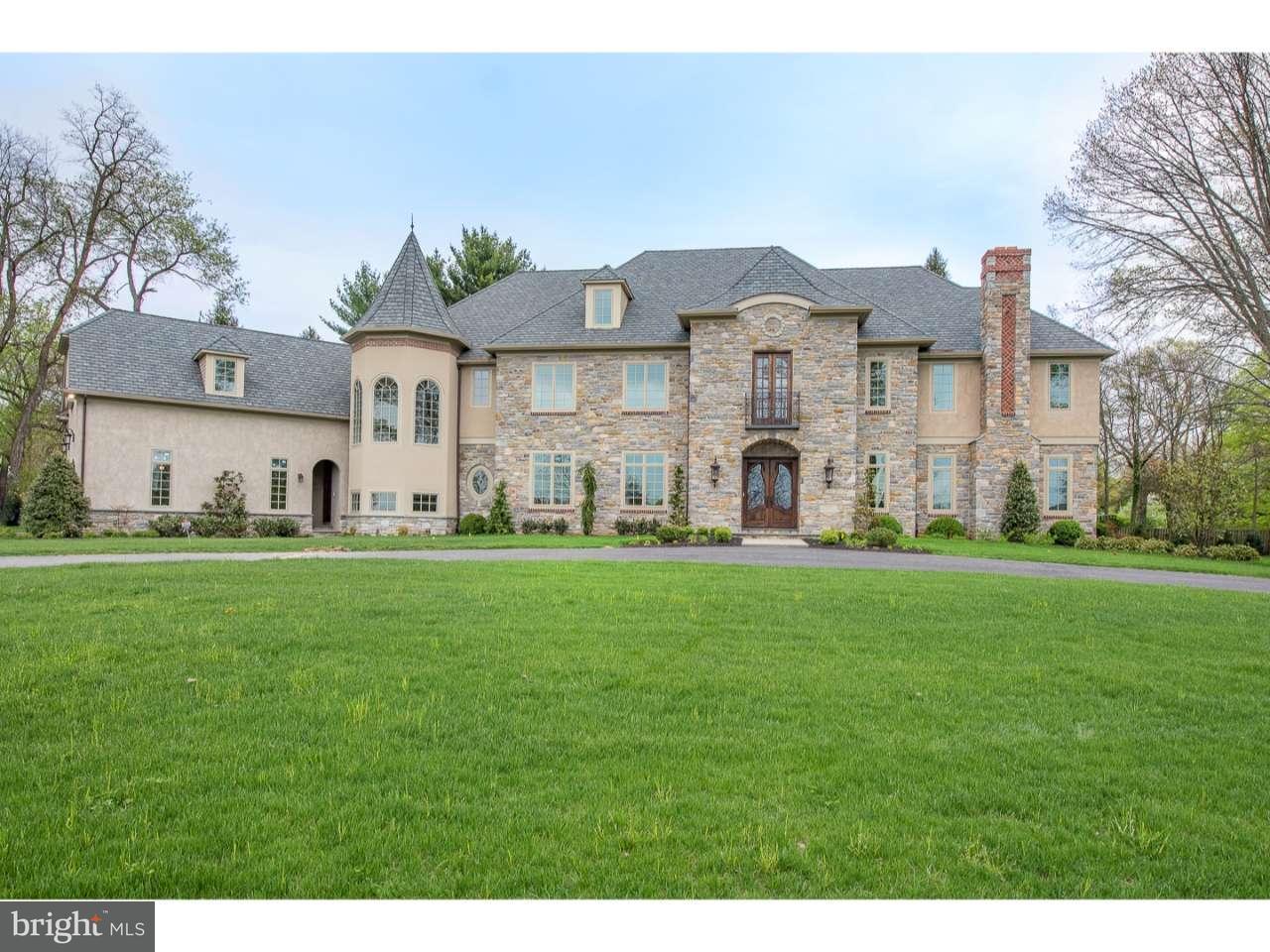 Maison unifamiliale pour l Vente à 264 ABRAHAMS Lane Villanova, Pennsylvanie 19085 États-Unis