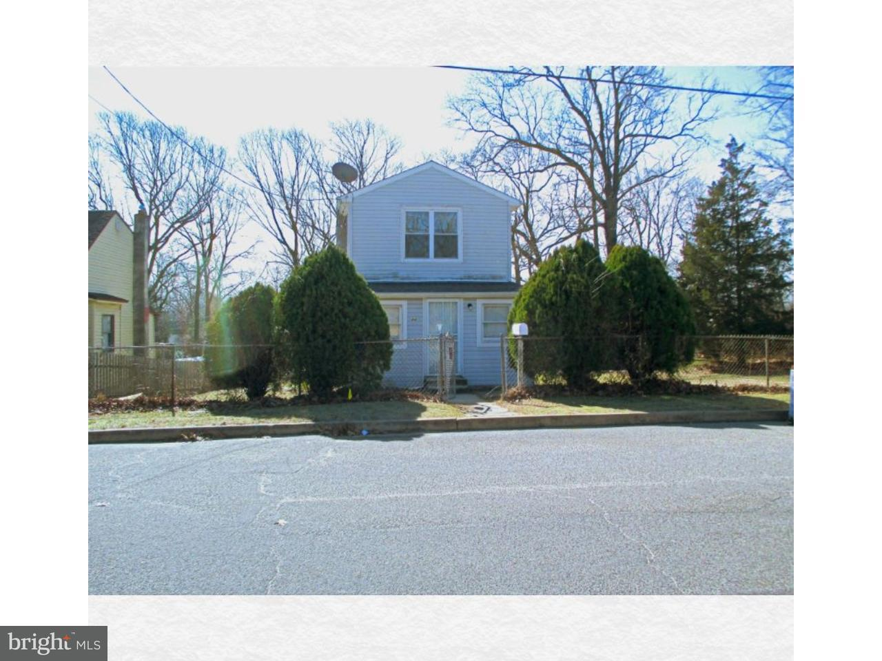 Single Family Home for Rent at 44 E 4TH Avenue Pine Hill, New Jersey 08021 United States