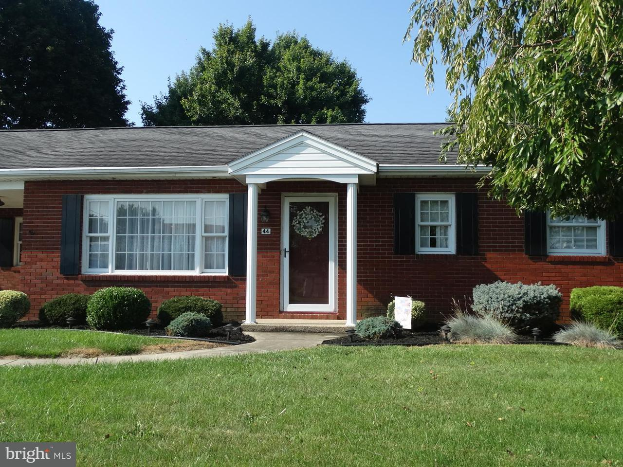 Other Residential for Rent at 44 Edward Dr Greencastle, Pennsylvania 17225 United States