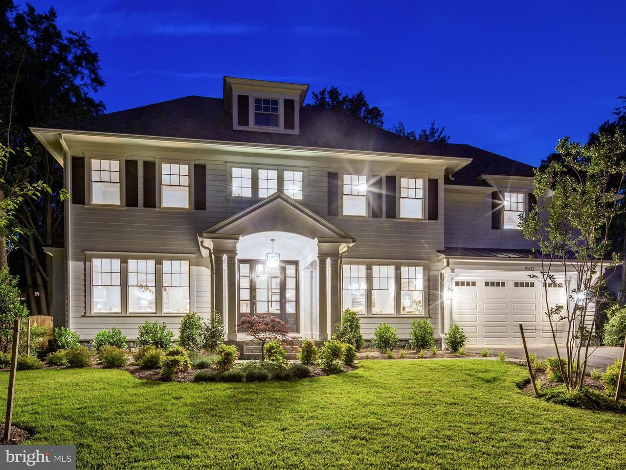 Single Family Home for Sale at 9502 BROOKE Drive 9502 BROOKE Drive Bethesda, Maryland 20817 United States