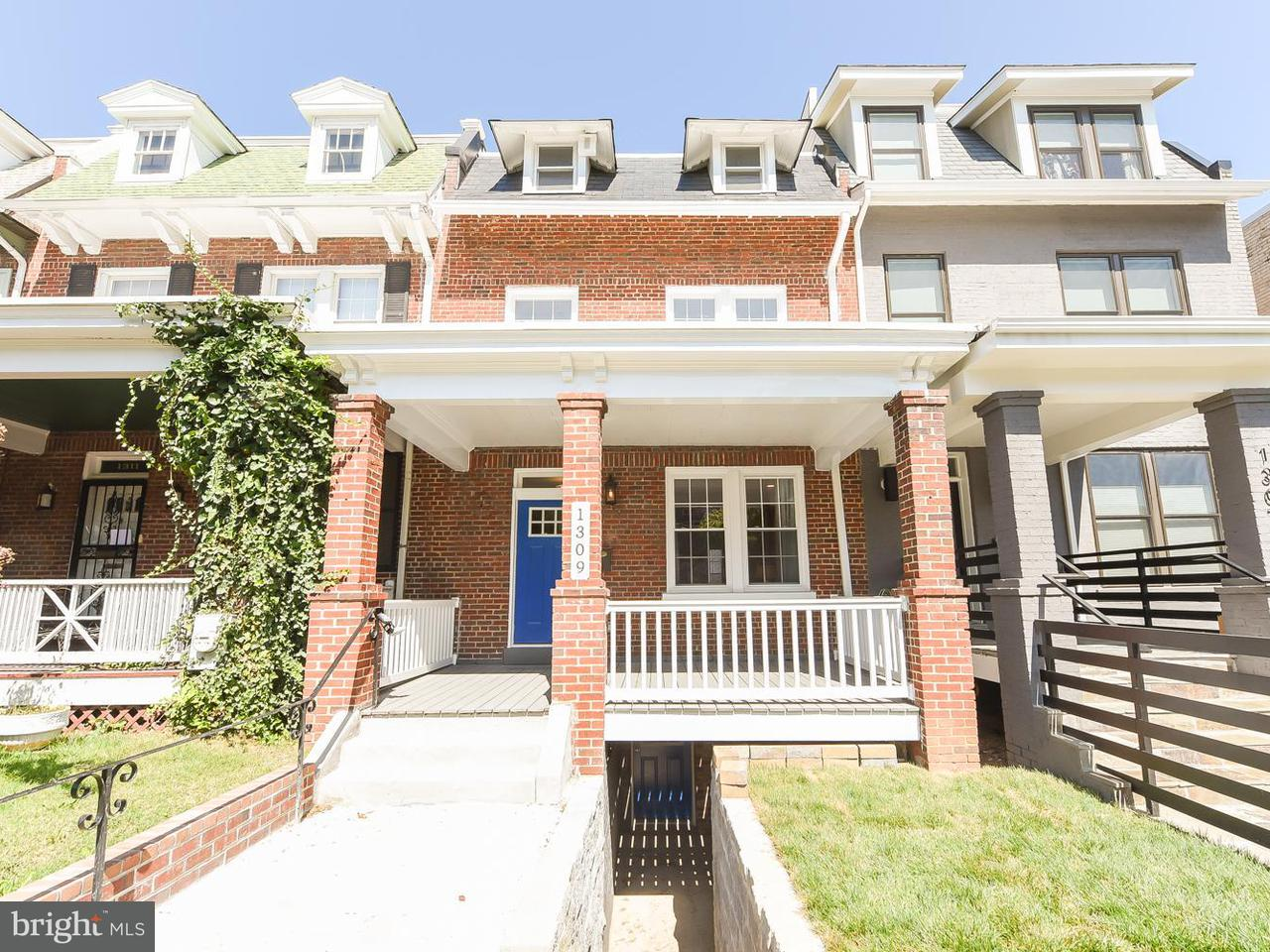 Townhouse for Sale at 1309 RANDOLPH ST NW #2 1309 RANDOLPH ST NW #2 Washington, District Of Columbia 20011 United States