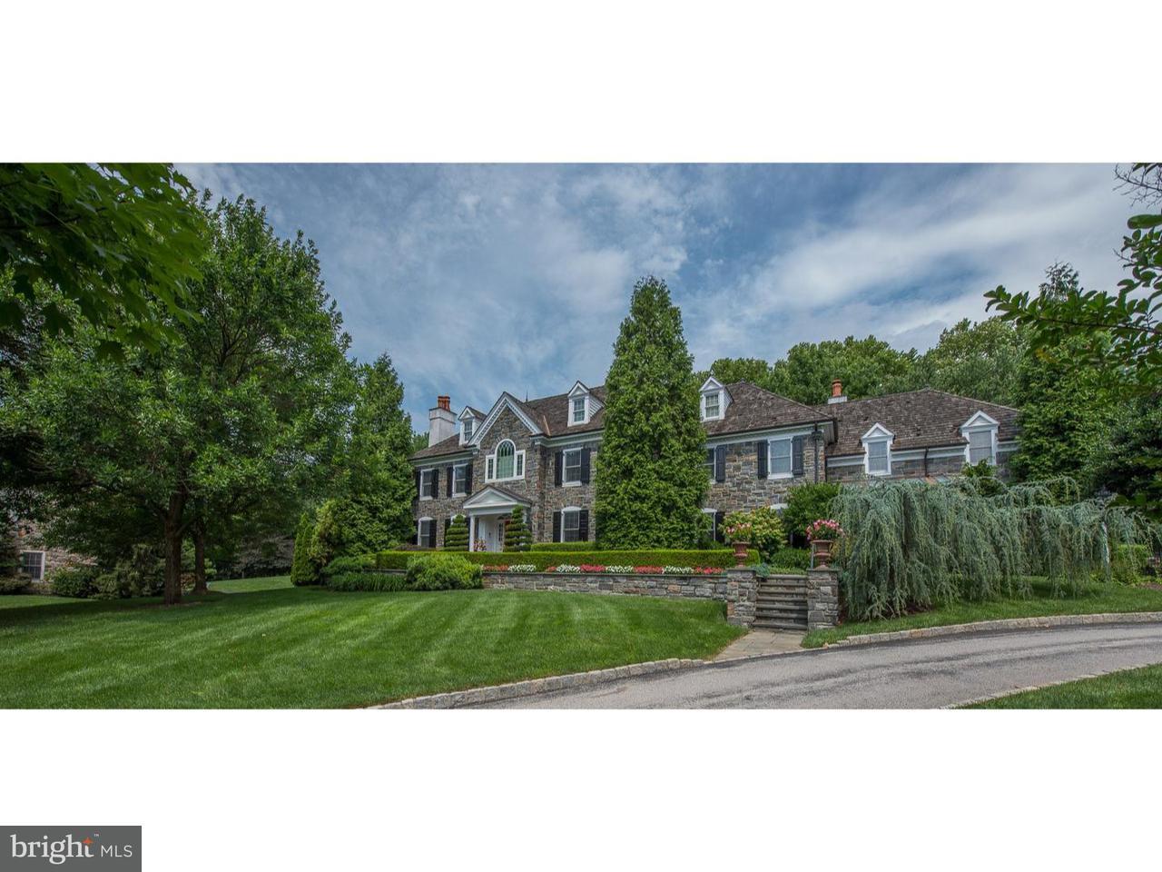 Maison unifamiliale pour l Vente à 1461 LANES END Villanova, Pennsylvanie 19085 États-Unis